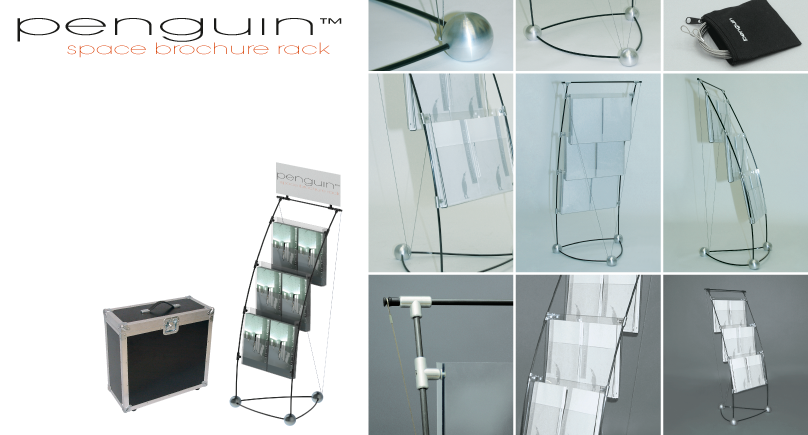 penguin space brochure rack